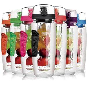 Laptone Fresh Fruit Infused Water Bottle
