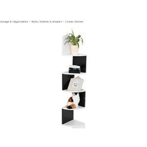 Zerone Corner Shelf Modern