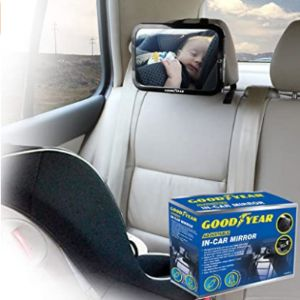 Goodyear Universal Car Mirror