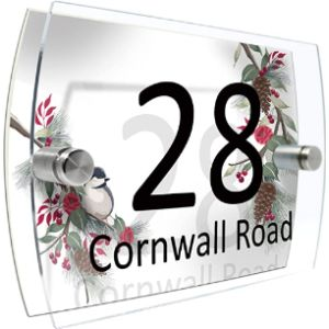Cs Printing Acrylic House Number Plaque