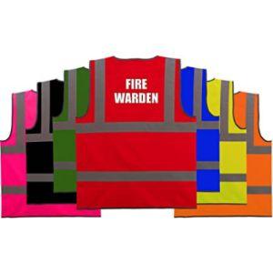 Hi Vis Heroes Limited Velcro Safety Vest