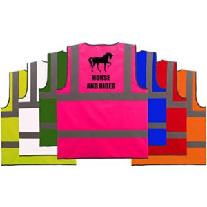 Hi Vis Heroes Limited Horse Riding High Visibility Vest