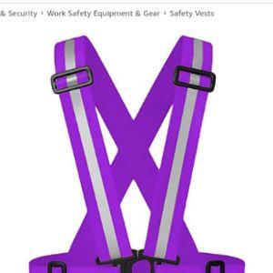 Rungao Purple Safety Vest