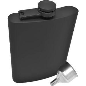Idalio Stainless Steel Whisky Flask