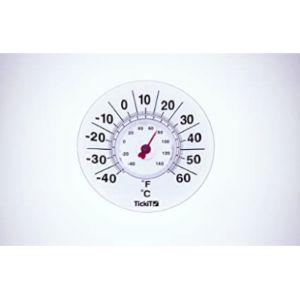 Celsius & Fahrenheit Exterior Window Thermometer