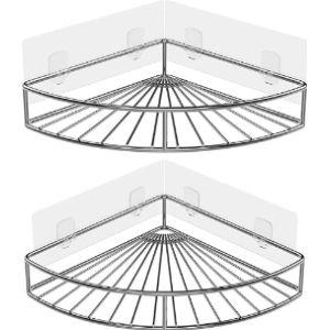 Oriware Stainless Steel Corner Shelf Kitchen