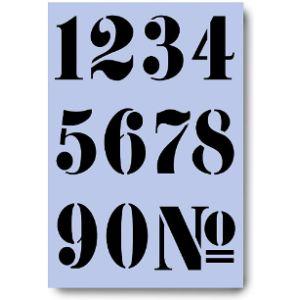 Dovetails Vintage Stencil Number 8