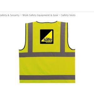 Hi Vis Heroes Engineer Safety Vest