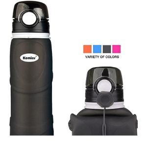 Kemier Collapsible Water Bottle Silicone