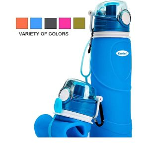 Kemier Insulated Collapsible Water Bottle