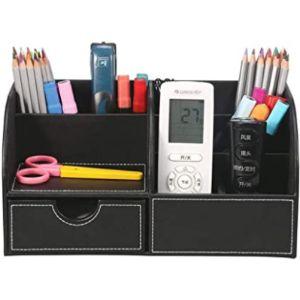 Winshea Black Remote Control Holder