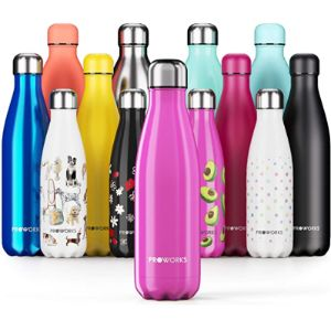 Proworks Holder Pattern Insulated Water Bottle