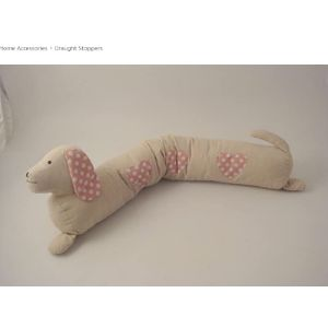 Giftware Trading Pink Draught Excluder