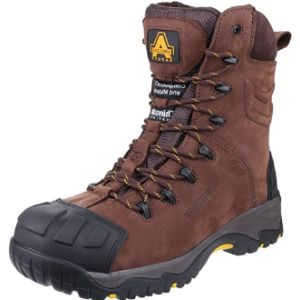 Amblers Safety Brown Work Boot