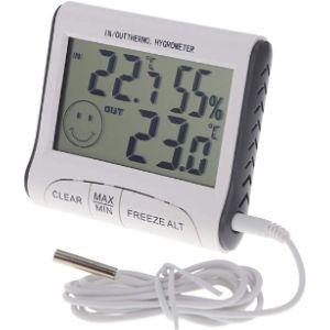 Thermometer World Digital Hygrometer Min Max Thermometer