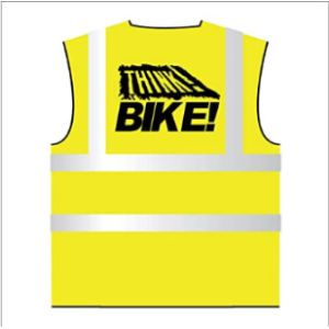 Hi Viz Safety Vest Motorcycle