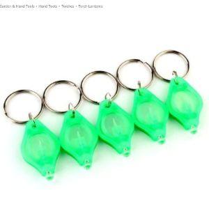 Romote Mini Led Flashlight Torch Light Lamp Keychains