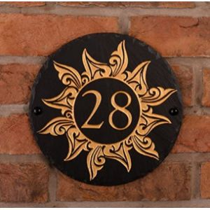 Signs Numbers House Number Plaque