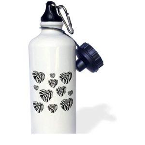 Yohoba Zebra Stainless Steel Water Bottle