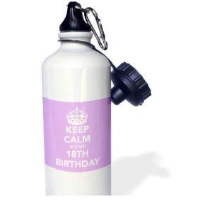 Yohoba Purple Stainless Steel Water Bottle