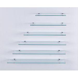 Euro Tische Custom Size Glass Shelf
