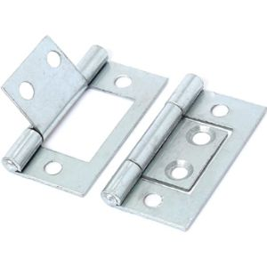 White Hinge Fitting Flush Hinge