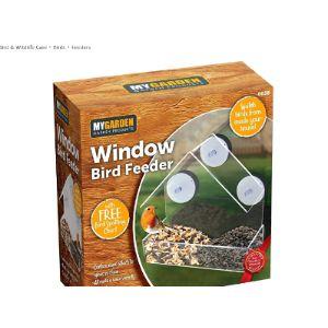 My Garden Perspex Window Bird Feeder