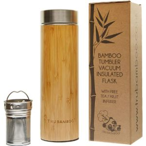 Trubamboo Eco Flask Stainless Steel