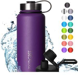 720°Dgree Purple Stainless Steel Water Bottle