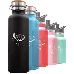 Undisposabl Large Stainless Steel Water Bottle