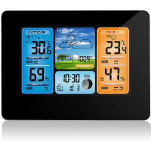 Allomn Outdoor Thermometer Hygrometer Barometer