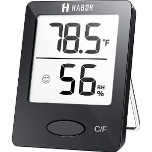 Habor Thermometer Humidity Meter