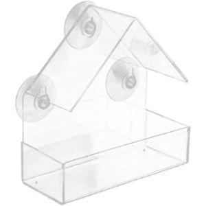 Ljslyj Window Box Bird Feeder