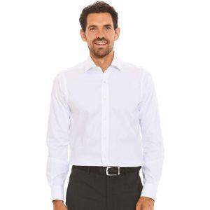 Savile Row Company Herringbone Pattern Shirt