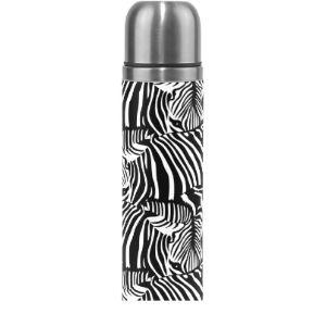 Mnsruu Zebra Vacuum Flask