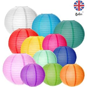 Belec Led Paper Lantern Light