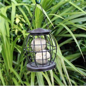 Unibos Caged Fat Ball Bird Feeder