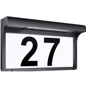 Leidrail Illuminated House Number Plaque