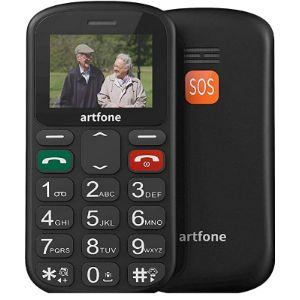 E Artfone Emergency Button Mobile Phone