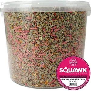 Squawk Tube Feeder