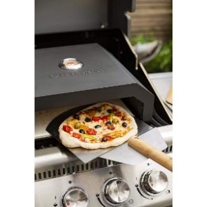 La Hacienda Stainless Steel Outdoor Pizza Oven