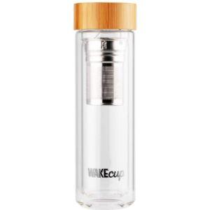 Wakecup Glass Inner Vacuum Flask