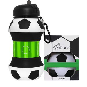 Visit The King Grit Store Small Collapsible Water Bottle