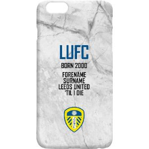 Personalised Football Gifts Leeds United Phone Case