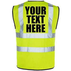 Kuest Personalised High Visibility Vest