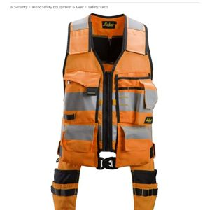 Snickers High Visibility Tool Vest