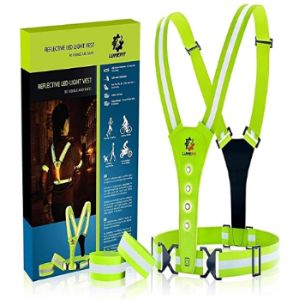 Lumefit Reflective Safety Vest Running