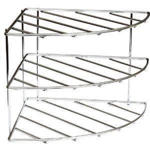 Amtido Corner Plate Shelf