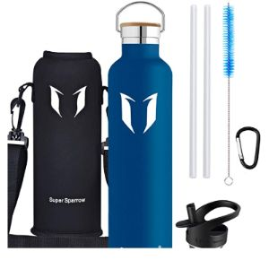 Super Sparrow Stainless Steel Water Bottle