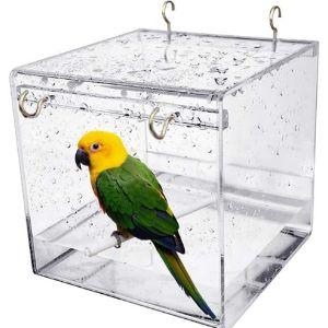Popetpop Inside Cage Bird Bath